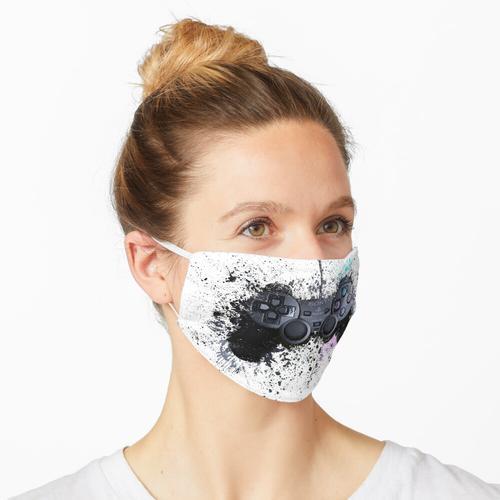 PS Gaming Controller Maske