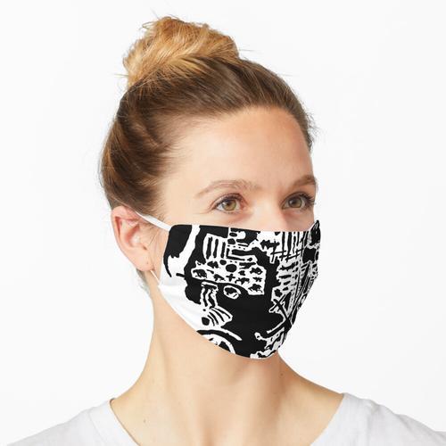 Wandbild 2 Maske