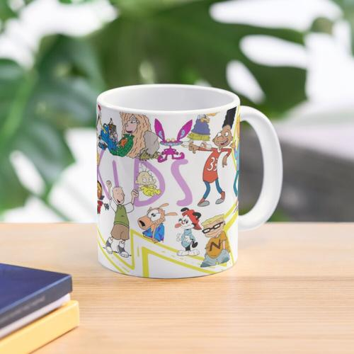 90's Kid Nickelodeon Mug