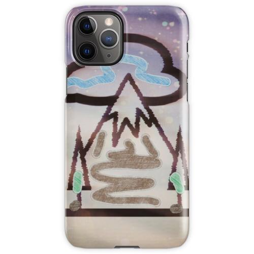 Es ist ein schneereicher Tag iPhone 11 Pro Handyhülle