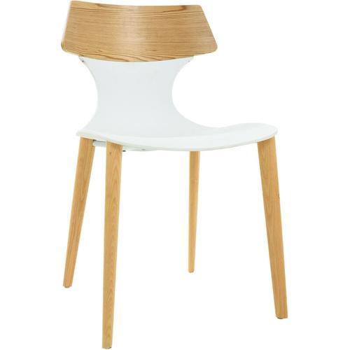 4er-Pack Stühle Pärumm Janitz Weiß 49x49,5x79 cm