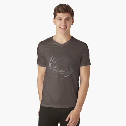 wie in der Box Brownie Meniskuslinse t-shirt:vneck