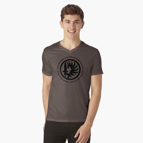Fremdenlegion 2 REP t-shirt:vneck
