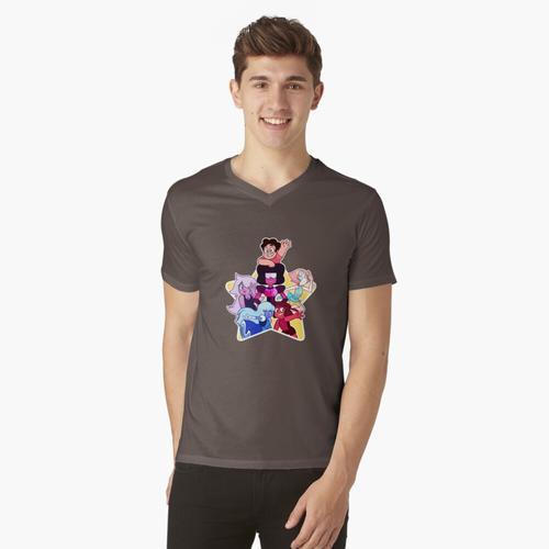 Kristall Edelsteine! t-shirt:vneck
