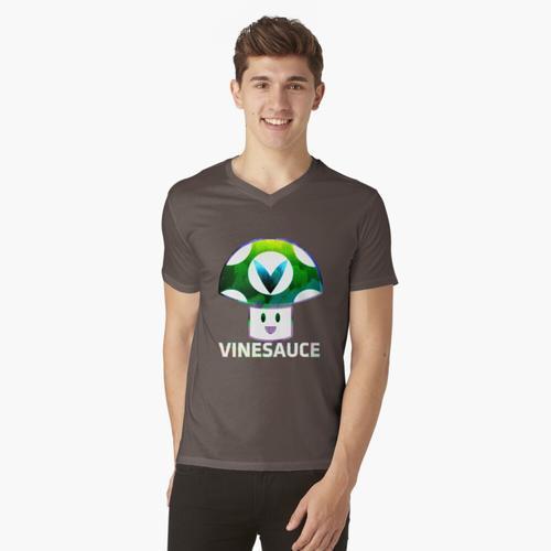 Das ist einfach nur Fan Art. http://vinesauce.com/ t-shirt:vneck