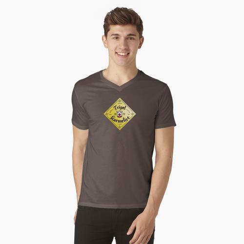 Tripel karmeliet t-shirt:vneck