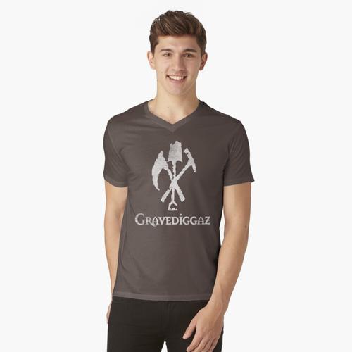 Gravediggaz t-shirt:vneck