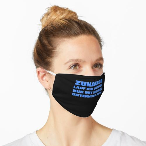 Unterhose Unterhosen Spruch Maske
