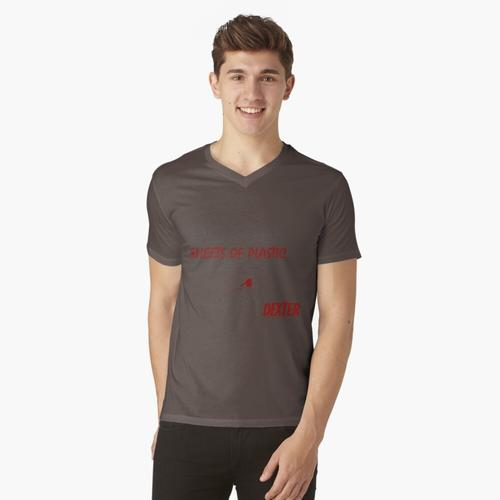 Kunststoffplatten - Dexter t-shirt:vneck