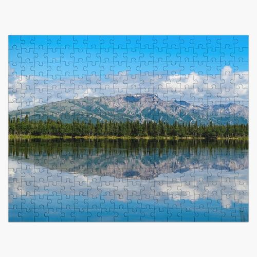 Alaska-Berge im Denali-Park Puzzle