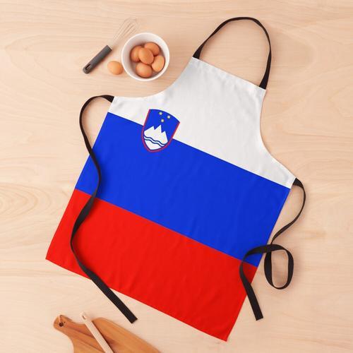 Slowenische Flagge Schürze