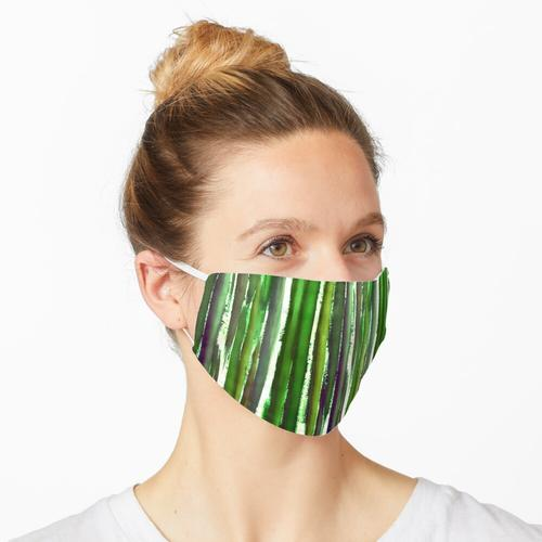 VERTIKAL IN GRÜN Maske