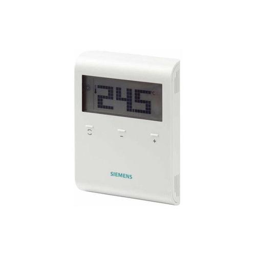 Thermostat LCD non programmable 230Vac - SIEMENS : RDD100