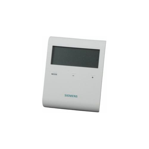 Thermostat LCD non programmable 230Vac : RDD100 - Siemens