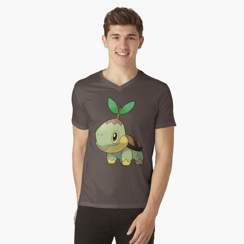 Turtwig t-shirt:vneck