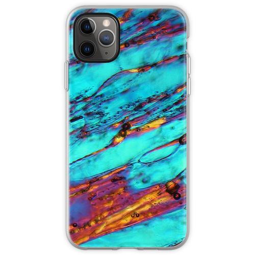 Eiskristalle unter dem Mikroskop Flexible Hülle für iPhone 11 Pro Max