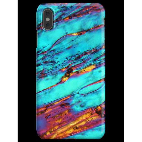 Eiskristalle unter dem Mikroskop iPhone XS Max Handyhülle