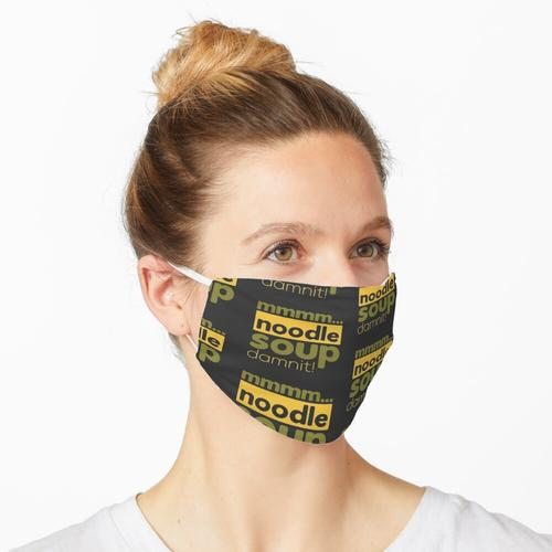 Mmm ... Nudelsuppe Maske