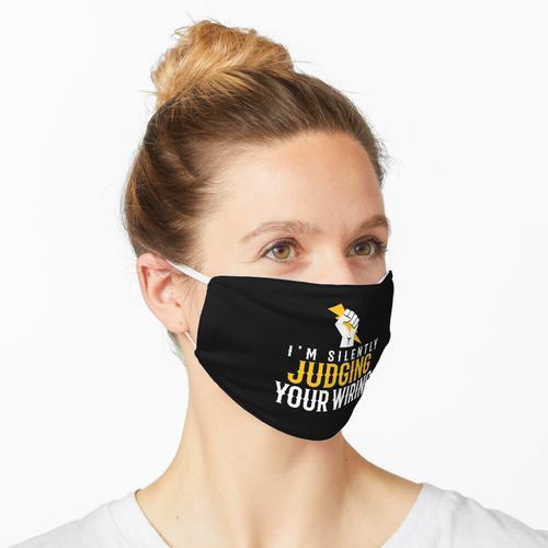 Ich beurteile still Ihre Verkabelung Maske