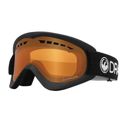 Dragon D2 Snow Goggles Black/Lumalens Amber