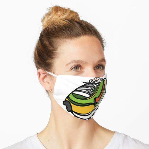 Aufgeblähter Sneaker Sacai LD Waffle Maske
