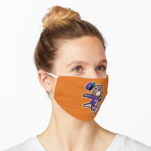 Kanye West Dropout Bär Phoenix Suns Vintage Abschlussfeier Maske