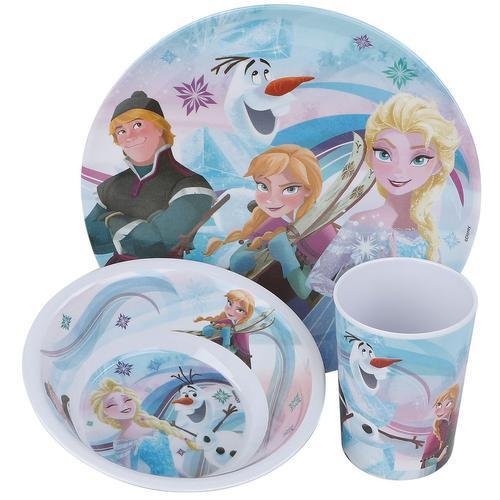 Die Eiskönigin Frühstücksset Frühstücks-Set - multicolor - Offizieller & Lizenzierter Fanartikel