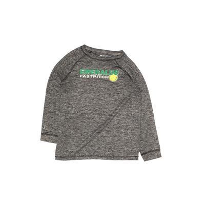 Holloway Active T-Shirt: Gray Sporting & Activewear - Size Medium