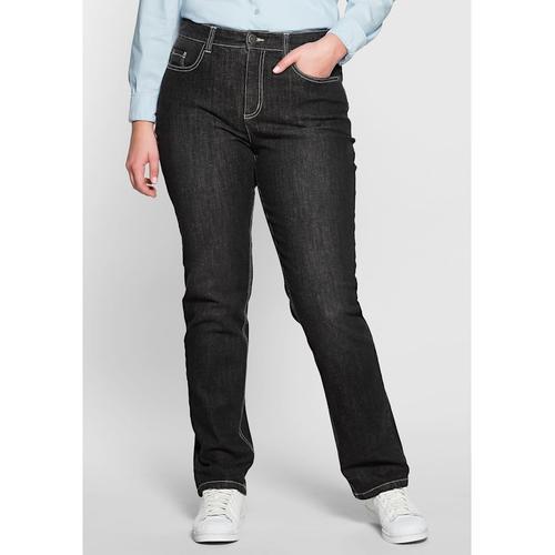 Shaping-Jeans Sheego black Denim