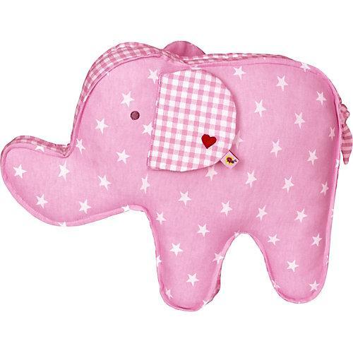 Kissen Elefant BabyGlück, rosa