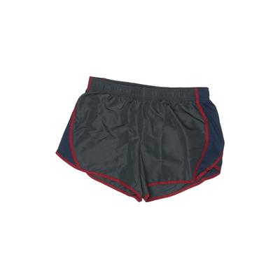 Athletic Works Athletic Shorts: Gray Color Block Sporting & Activewear - Size 8