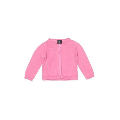 The Children's Place - The Children's Place Cardigan Sweater: Pink Tops - Size 24 Month
