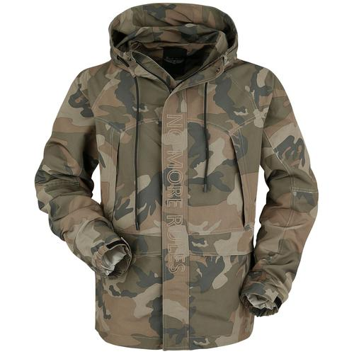 Rock Rebel by EMP Camouflage Jacke mit Stickerei Herren-Übergangsjacke - camouflage