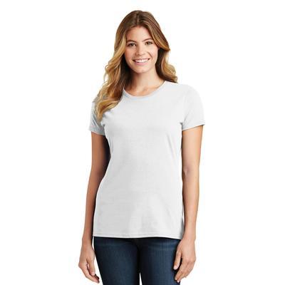 Port & Company LPC450 Women's Fan Favorite Top in White size XL   Cotton
