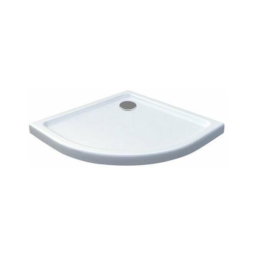 50 mm Duschtasse Viertelkreis 90 x 90 cm
