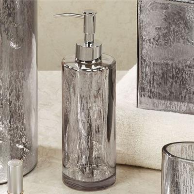 Versailles Lotion Soap Dispenser Silver , Silver