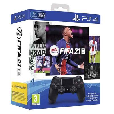 PACK Manette SONY MANETTE PS4 DUAL SHOCK + FIFA21 + Points FUT + Abonnement PS+ 14 Jours