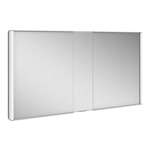 Keuco Royal Match Unterputz-Spiegelschrank mit LED-Beleuchtung B: 130 H: 70 T: 14,9 cm 12815171301, EEK: A++
