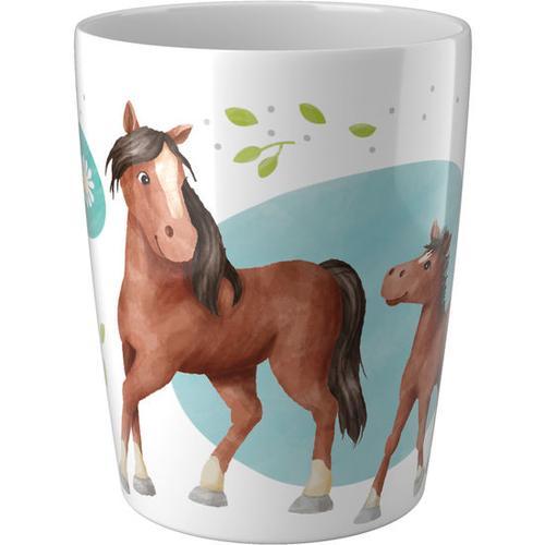 HABA Becher Pferde, bunt
