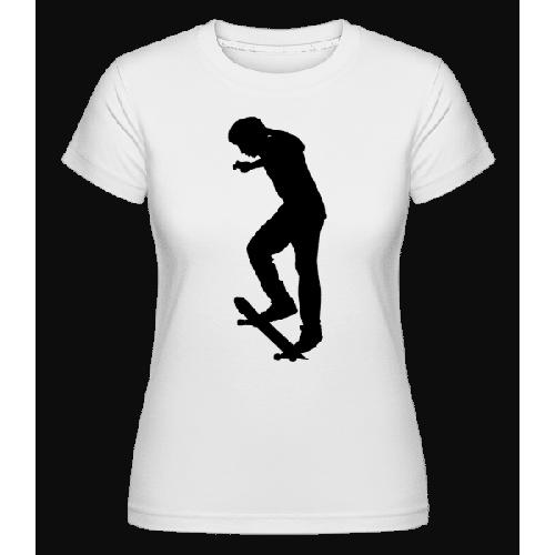 Skateboard Ollie - Shirtinator Frauen T-Shirt