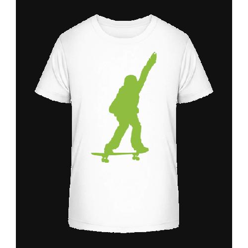 Skateboard Junge - Kinder Premium Bio T-Shirt