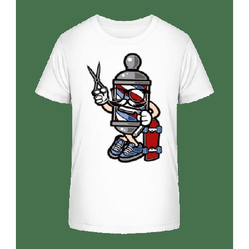 Barber Skater - Kinder Premium Bio T-Shirt