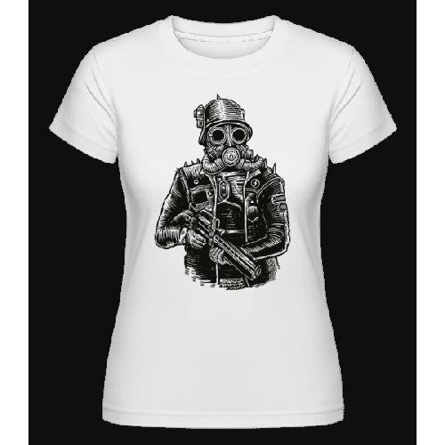 Steampunk Soldier - Shirtinator Frauen T-Shirt