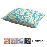 Deny Designs Pillow Cat & Dog Bed w/ Removable Cover, Daisy Do Right