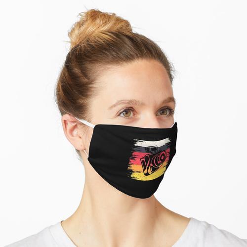 Fotograf & Machen Sie ein Foto für einen Fotografen Maske