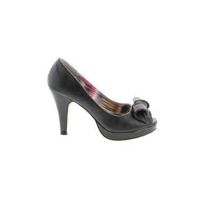 Madden Girl Heels: Black Solid S...