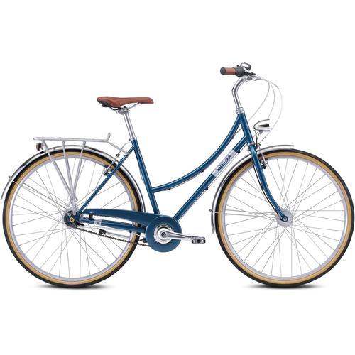 BREEZER Bikes Trekkingrad DOWNTOWN 7+, 7 Gang blau Trekkingräder Fahrräder Zubehör
