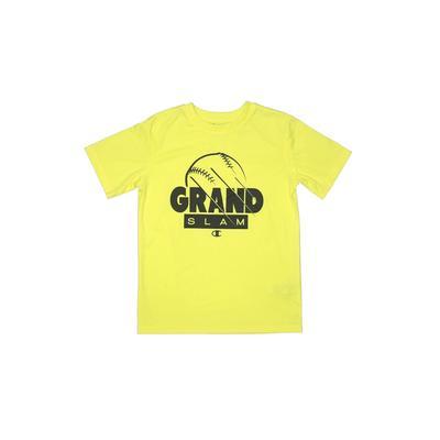 Champion Active T-Shirt: Yellow ...