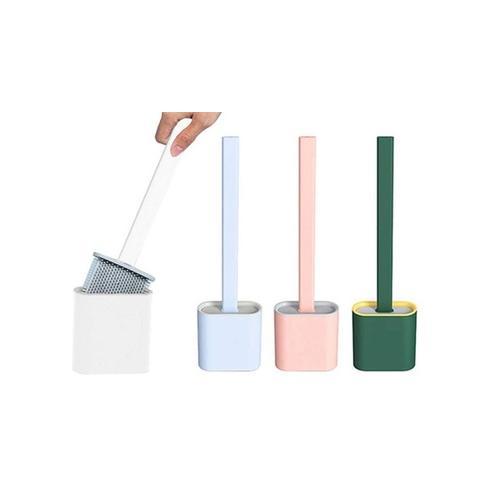 Silikon-WC-Bürste: Grün/ 2