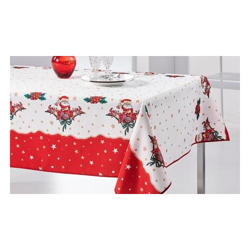 Tischdecke: Weihnachtsmann / 200 x 150 cm